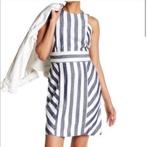 Sharagano | Striped Dress